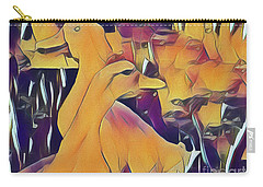 Carry-all Pouch featuring the photograph Hello, Goodbye, I Must Be Going by Leigh Kemp