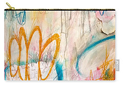 Carry-all Pouch featuring the painting Hello My Darling by Tracy Bonin
