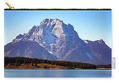 Carry-all Pouch featuring the photograph Hermitage Point by Pete Federico