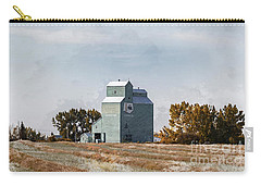 Carry-all Pouch featuring the photograph Herronton Elevator by Brad Allen Fine Art