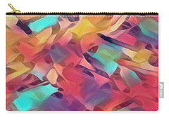 Carry-all Pouch featuring the digital art Hidden In Plain Sight by Mike Braun