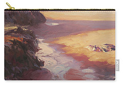 Carry-all Pouch featuring the painting Hidden Path To The Sea by Steve Henderson