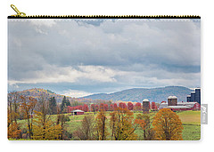 Carry-all Pouch featuring the photograph Hiddenhurst Farm Autumn by Bill Wakeley