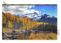 Carry-all Pouch featuring the photograph High County Ablaze by Rick Furmanek