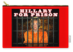 Hillary For Prison Carry-all Pouch