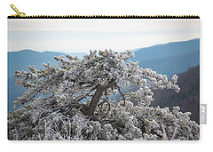 Hoarfrost In The Blue Ridge Mountains Carry-all Pouch