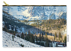 Hockey On Maroon Lake Maroon Bells Aspen Colorado Carry-all Pouch