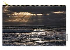 Carry-all Pouch featuring the photograph Hokitika Beach New Zealand Iv by Steven Ralser