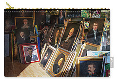 Carry-all Pouch featuring the photograph Home Of Lost Portraits by Craig J Satterlee