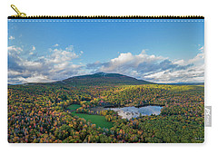 Carry-all Pouch featuring the photograph Home Of My Youth  by Michael Hughes