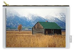 Carry-all Pouch featuring the photograph Home On The Range by Pete Federico