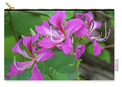 Carry-all Pouch featuring the photograph Hong Kong Orchid Tree Dthn0262 by Gerry Gantt
