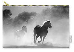 Horses On The Run Carry-all Pouch
