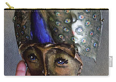 Horseshoe Crab Mask Wall Piece Carry-all Pouch