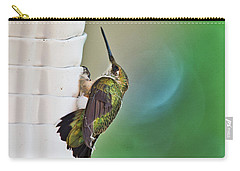 Carry-all Pouch featuring the photograph Hummingbird by Steven Ralser