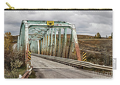 Carry-all Pouch featuring the photograph Hwy 552 Bridge by Brad Allen Fine Art