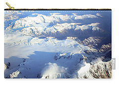 Icebound Mountains Carry-all Pouch