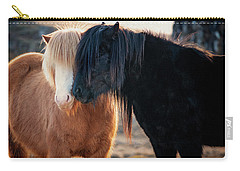Icelandic Horse Love Carry-all Pouch