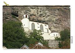 Carry-all Pouch featuring the photograph Idar-oberstein Felsenkirche by PJ Boylan