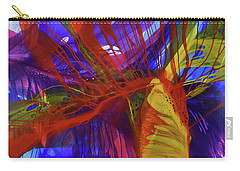 Carry-all Pouch featuring the painting Ignite by Kate Word