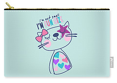 I'm Not Small, I'm Fun Size - Baby Room Nursery Art Poster Prin Carry-all Pouch