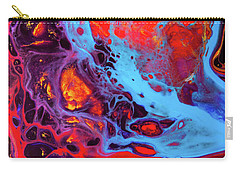 Imagination - Colorful Large Modern Abstract Painting Carry-all Pouch