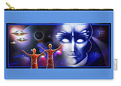 Imagine - What Is Out  There Carry-all Pouch