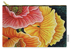 Carry-all Pouch featuring the painting Impending Storm by Amy E Fraser