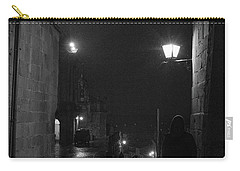Carry-all Pouch featuring the photograph In Wait by Alex Lapidus