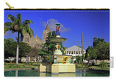 Carry-all Pouch featuring the photograph Independence Park by Tony Murtagh