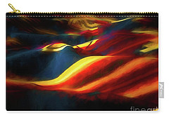 Carry-all Pouch featuring the photograph Indian Blanket by Jon Burch Photography