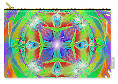 Indian Mandala Carry-all Pouch