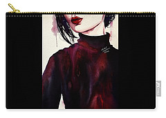 Carry-all Pouch featuring the painting Inside My Heart by Michal Madison