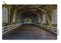 Inside The Belknap Bridge Carry-all Pouch
