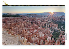 Inspiration Point Sunrise Bryce Canyon National Park Summer Solstice Carry-all Pouch