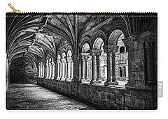 Interior Corridors Of The Monastery Of Santo Estevo De Ribas Del Sil Carry-all Pouch