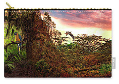 Carry-all Pouch featuring the photograph Into The Unknown by Mike Braun