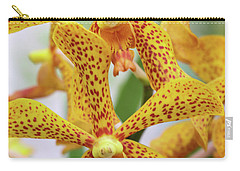 Intriguing Yellow Spider Orchids Carry-all Pouch