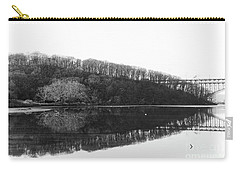 Carry-all Pouch featuring the photograph Inwood Reflections by Cole Thompson
