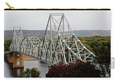 Iowa - Mississippi River Bridge Carry-all Pouch