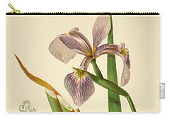 Iris Versicolor Blue Flag Carry-all Pouch