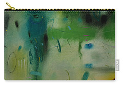 Carry-all Pouch featuring the drawing Irish Rain by Camille Rendal