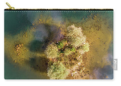 Carry-all Pouch featuring the photograph Island by Okan YILMAZ