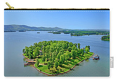 Emerald Island, Smith Mountain Lake, Va. Carry-all Pouch