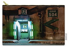 Carry-all Pouch featuring the photograph Issue 504 by Randy Scherkenbach
