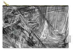 Carry-all Pouch featuring the digital art It Has Been A Busy Day by Angie Tirado