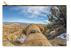 Carry-all Pouch featuring the photograph Jackson At Bryson Canyon by Matthew Irvin