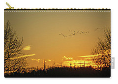 January Sunset - Lehigh Valley - Photography Carry-all Pouch