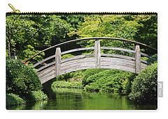 Japanese Garden Arch Bridge In Springtime Carry-all Pouch