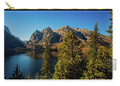 Carry-all Pouch featuring the photograph Jenny Lake by Pete Federico